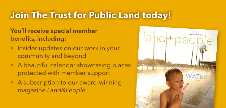 Join The Trust for Public Land