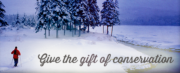 give the gift of conservation